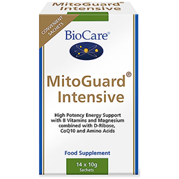 BioCare MitoGuard Intensive - Energy Support - 14 x 10g Sachets