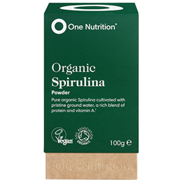 One Nutrition Organic Spirulina Powder - 100g