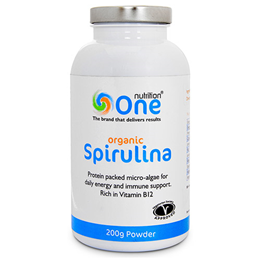 One Nutrition Organic Spirulina - 200g Powder