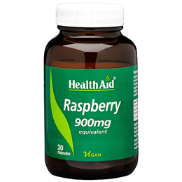 HealthAid Raspberry 900mg Equivalent - 30 Vegicaps