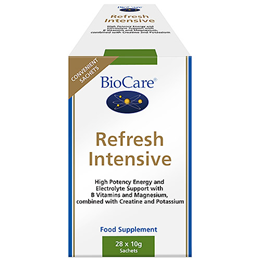 BioCare Refresh Intensive - Energy Support - 28 x 10g Sachets
