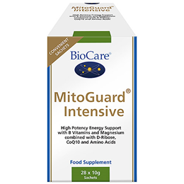 BioCare MitoGuard Intensive - Energy Support - 28 x 10g Sachets