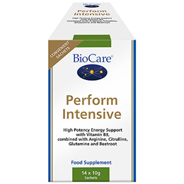 BioCare Perform Intensive - Energy Support - 14 x 10g Sachets