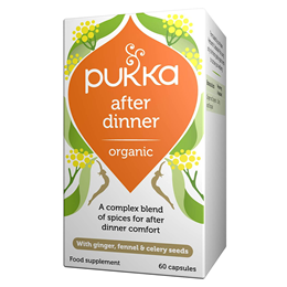 Pukka After Dinner - Seven Seeds-Organic Ginger & Fennel - 60 Vegicaps