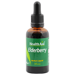 HealthAid Elderberry - Herbal Liquid - 50ml