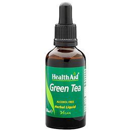 HealthAid Green Tea - Standardised Herbal Liquid - 50ml