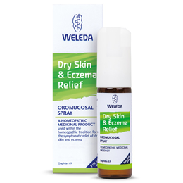Weleda Dry Skin & Eczema Relief Oromucosal  - 20ml Spray