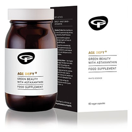 Green People Age Defy+ - Green Beauty with Astaxanthin - 60 Vegicaps