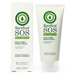 Barefoot SOS Dry & Sensitive - Face & Body Rescue Cream - 100ml