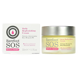 Barefoot SOS Daily Replenishing Cream - Rosa Mosqueta Oil - 30ml