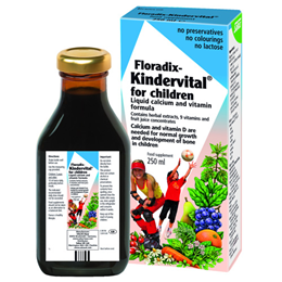 Floradix Kindervital - Liquid Calcium and Vitamin Formula - 250ml
