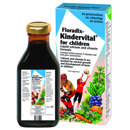 Floradix Kindervital - Liquid Calcium and Vitamin Formula - 500ml