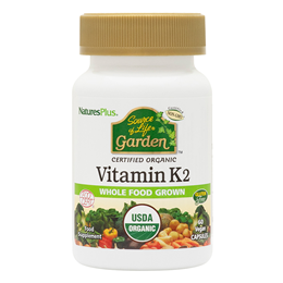 Natures Plus - Source of Life Garden Vitamin K2 - 60 Vegicaps