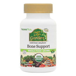 Nature`s Plus Source of Life Garden Bone Support - 120 Vegicaps