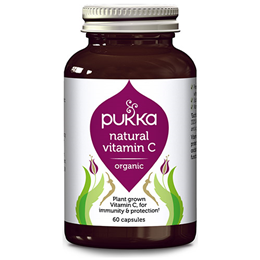 Pukka Organic Natural Vitamin C - 60 Vegicaps