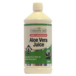 Natures Aid Double Concentrated Aloe Vera Juice - 1000ml