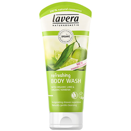 lavera Organic Lime Refreshing Body Wash - 200ml
