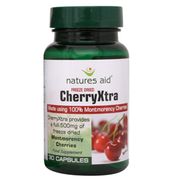 Natures Aid Freeze Dried CherryXtra - 30 Vegicaps