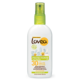 Lovea SPF 30 Moisturising Sunscreen Spray - Water Resistant - 125ml