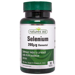 Natures Aid Selenium with Zinc & Vitamins A, C & E - 90 Tablets