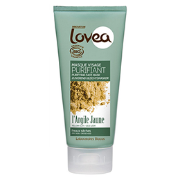 Lovea Purifying Face Mask - Yellow Clay - For Dry Skin - 75ml