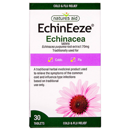 Natures Aid EchinEeze - Echinacea - 30 Tablets