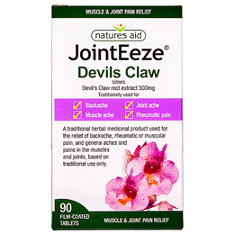 Natures Aid JointEeze - Devils Claw - 90 Film Coated Tablets