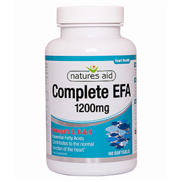 Natures Aid Complete EFA - 90 x 1200mg Softgels