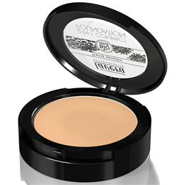 lavera 2-in-1 Compact Foundation in Honey 03 - 10g