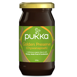Pukka Golden Preserve - Chywanaprash -  Honey, Amla & Cardamom - 250g