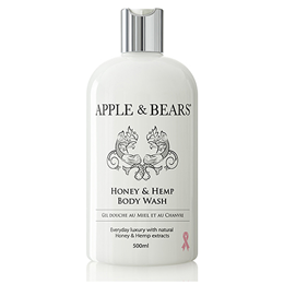 APPLE & BEARS Honey & Hemp Body Wash - 500ml