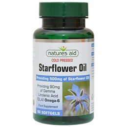 Natures Aid Starflower Oil - 90 Softgels