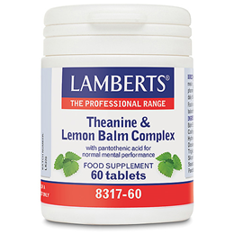 LAMBERTS Theanine & Lemon Balm Complex - 60 Tablets