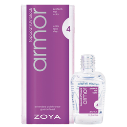 Zoya Armor - Top Coat - Adheres Nail Colour - 15ml