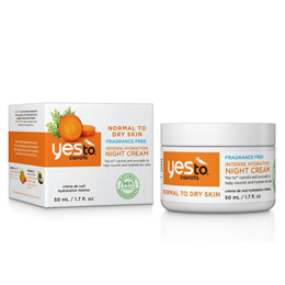 Yes To Carrots - Intense Hydration Night Cream - 50ml