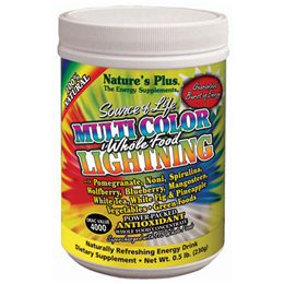 Natures Plus Source of Life Multi Colour Whole Food Lightning - 230g