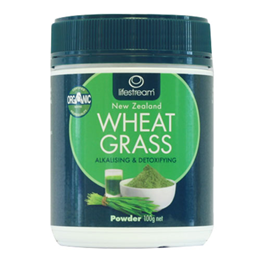 Lifestream Wheat Grass Powder - Certified Organic - 100g