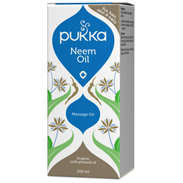 Pukka Neem Oil - Organic Cold Pressed Massage Oil - 100ml