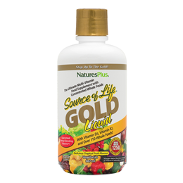 Natures Plus Source of Life GOLD Liquid - Tropical Fruit - 887ml