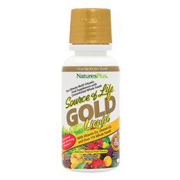 Nature`s Plus Source of Life GOLD Tropical Fruit Multivitamin Liquid - 236ml