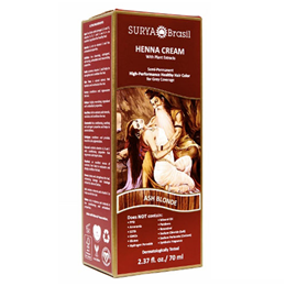 Surya Brasil Henna Cream - Natural Hair Colouring - Ash Blonde - 70ml