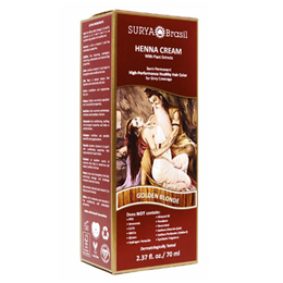 Surya Brasil Henna Cream - Natural Hair Colouring - Golden Blonde-70ml