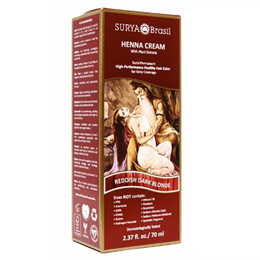 Surya Brasil Henna Cream - Natural Colouring -Reddish Dark Blonde-70ml