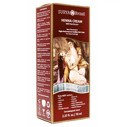 Surya Brasil Henna Cream - Deep Hair Conditioning - Silver Fox - 70ml