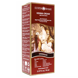 Surya Brasil Henna Cream - Natural Hair Colouring - Chocolate - 70ml