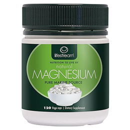 Lifestream Natural Magnesium - 120 x 350mg Vegicaps