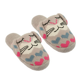 Aroma Home Knitted Rabbit Slippers