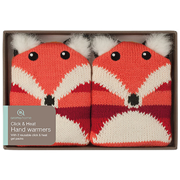 Aroma Home Knitted Fox Hand Warmers