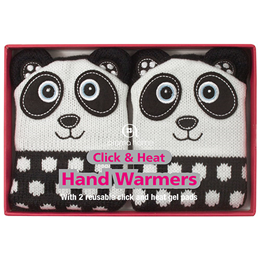 Aroma Home Knitted Panda Hand Warmers