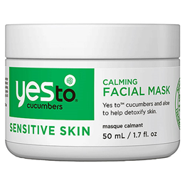 Yes To Cucumbers - Sensitive Skin Calming Facial Mask - 50ml